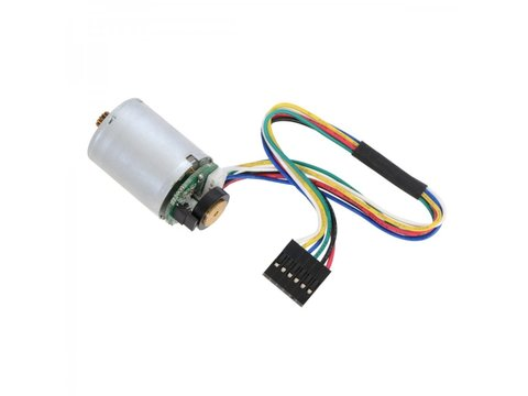 LP 12V 2oz-in Motor w/ 48 CPR Encoder (No Gearbox)