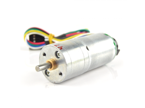 Pololu 6VDC, 120 RPM 65 oz-in Gearmotor w/ Encoder