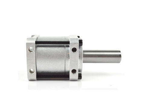 """Banebots P60 Gearbox: 1.5"""" Shaft, RS-540/550 Mount, 132:1 (No Grease)"""
