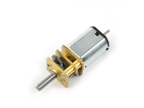 6V MP Pololu 5:1 Micro Metal Gearmotor w/ Extended Motor Shaft