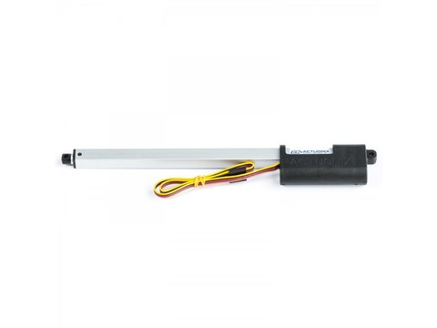 P16 Linear Actuator, 200mm, 22:1, 12V w/ Potentiometer Feedback