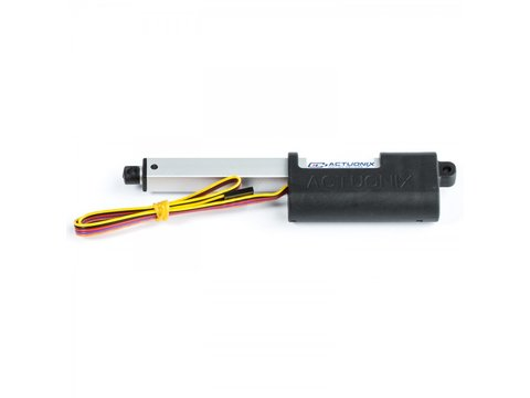 P16 Linear Actuator, 100mm, 256:1, 12V w/ Potentiometer Feedback