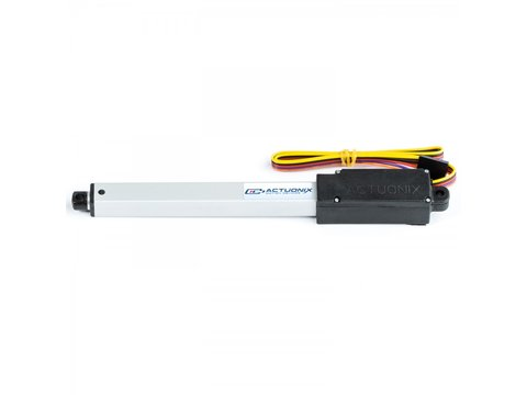 L16 Linear Actuator, 100mm, 150:1, 12V w/ Potentiometer Feedback