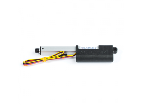 P16 Linear Actuator, 100mm, 64:1, 12V w/ Potentiometer Feedback