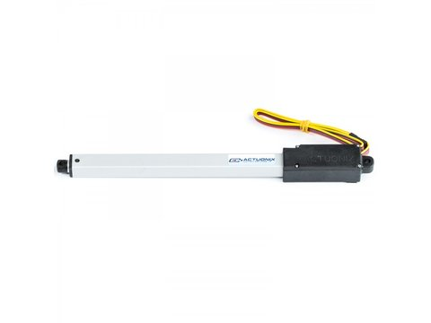 L16 Linear Actuator, 140mm, 63:1, 12V w/ Potentiometer Feedback