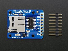 Microsd card breakout board plus number 2