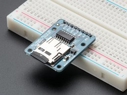 Microsd card breakout board plus number 4