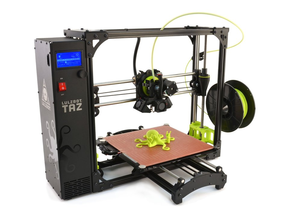 Lulzbot taz 6 3d printer number 1