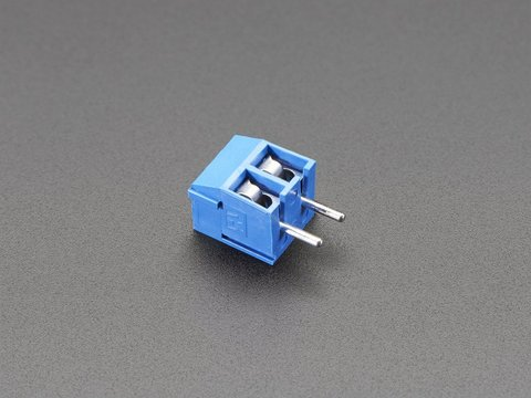 Terminal Block - 2 pin - 5mm pitch - Pack of 5