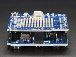 Adafruit bluefruit le shield bluetooth le for arduino 4