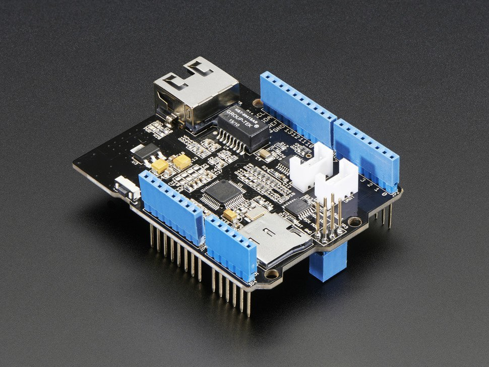 Ethernet shield for arduino number 1