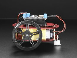 Mini round robot chassis kit 2wd with dc motors 4