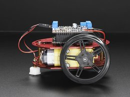 Mini round robot chassis kit 2wd with dc motors 5
