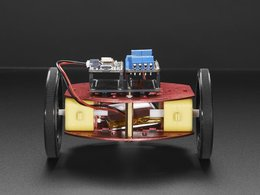 Mini round robot chassis kit 2wd with dc motors 7