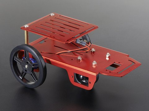 Mini Robot Rover Chassis Kit - 2WD with DC Motors