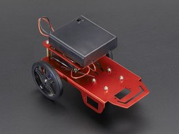 Mini robot rover chassis kit 2wd with dc motors 3