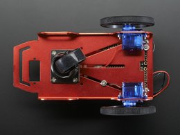 Mini robot rover chassis kit 2wd with dc motors 4