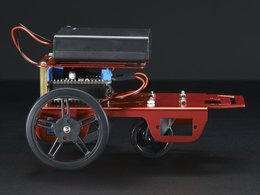 Mini robot rover chassis kit 2wd with dc motors 5