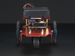 Mini robot rover chassis kit 2wd with dc motors 7