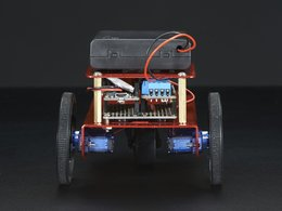Mini robot rover chassis kit 2wd with dc motors 8