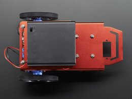 Mini robot rover chassis kit 2wd with dc motors 9