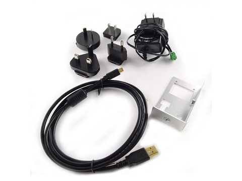 Vu8 Starter Kit for USB/Serial/CAN (Cables, Power Supply and Bracket)