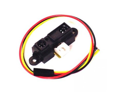 Sharp IR Range Sensor - 10cm to 80cm W/ Cable