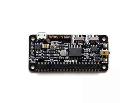 Witty Pi Mini RTC + Power Management for Raspberry Pi