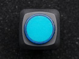 16mm illuminated pushbutton blue latching number 3