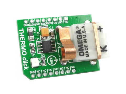 Thermocouple Amplifier Click Board