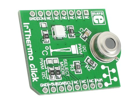 IR Temperature Sensor 3.3V Click Board