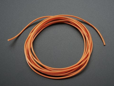 Super Flexible Stranded Core Orange Silicone Cover Wire - 2m 26AWG