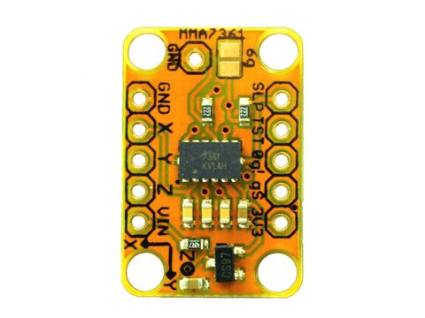AM3X ±6g 3-Axis Accelerometer