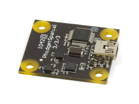 PhidgetSpatial 3 Axis ±8g Accelerometer 3/3/3