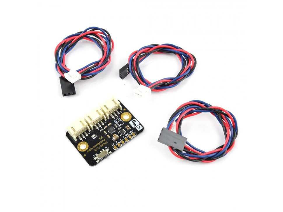 Plus 8g triple axis accelerometer breakout 2850308817