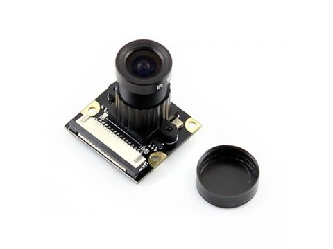 Raspberry Pi Camera Module w/ Adjustable Focus and Night Vision