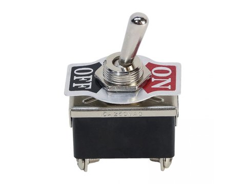 DPST Heavy Duty Latching Toggle Switch