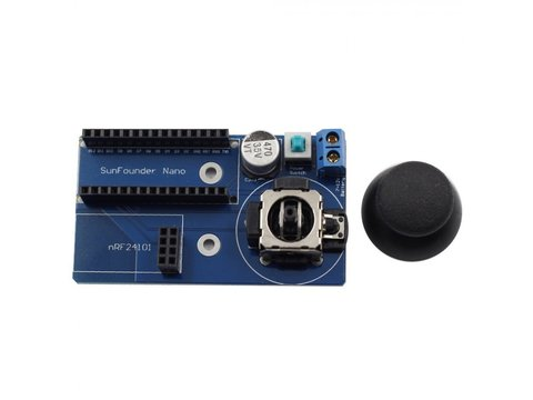 Mobile Robot Remote Controller for Arduino Nano and NRF24L01