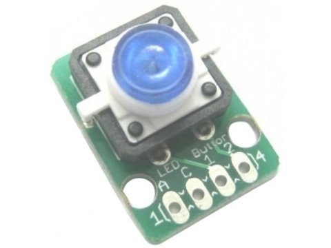 Button Blue LED Module