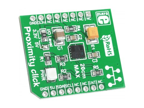 Infrared Proximity / Light Sensor Click Board