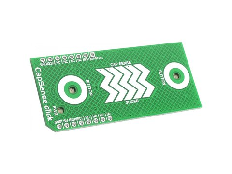 Capacitive Sensor Click Board