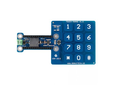 Capacitive Touch Keypad Add-On for Arduino Nano