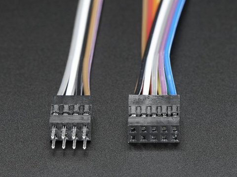 Small Dual Row Wire Housing Pack for DIY Jumper Cables
