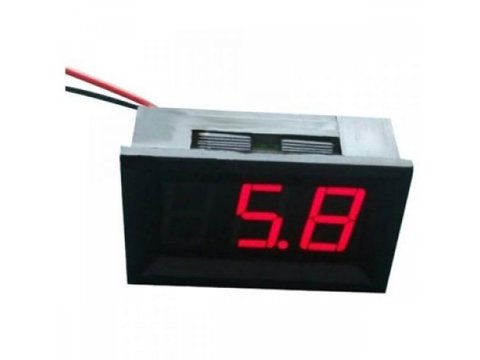 LED 4.5V - 30V Voltage Meter (Red)