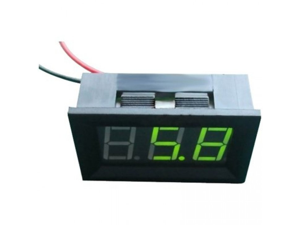 Led 4 dot 5v 30v voltage meter green 7125981952