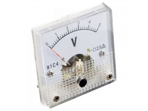 SFE Analog Voltage Panel Meter - 0 to 5V