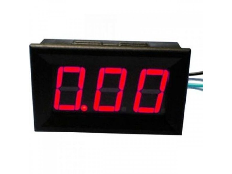 Led current meter 10a red 1196493292