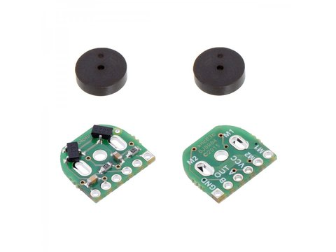 12 CPR Magnetic Encoder Pair Kit for Micro Metal (HPCB Compatible)
