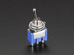 Mini panel mount spdt toggle switch 1