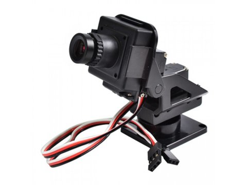CMOS Camera for FPV w/ Pan/Tilt - 720x480 pixels